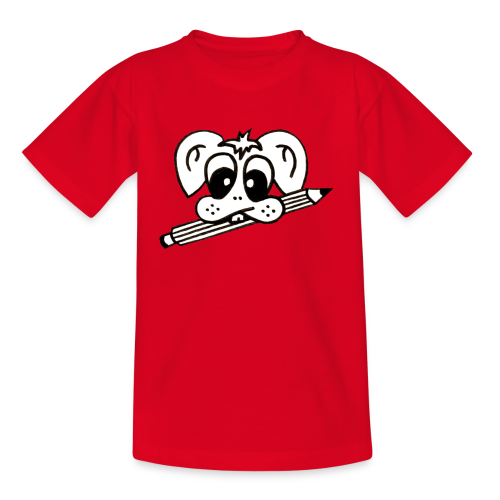 mister rabbitissimo school - Kinder T-Shirt