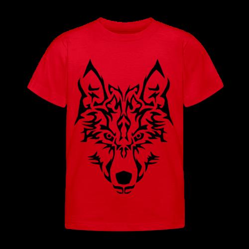 Tribal Wolf - T-shirt Enfant