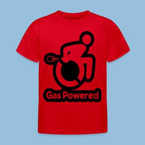 Gas Powered Wheelchair 001 - Kinderen T-shirt
