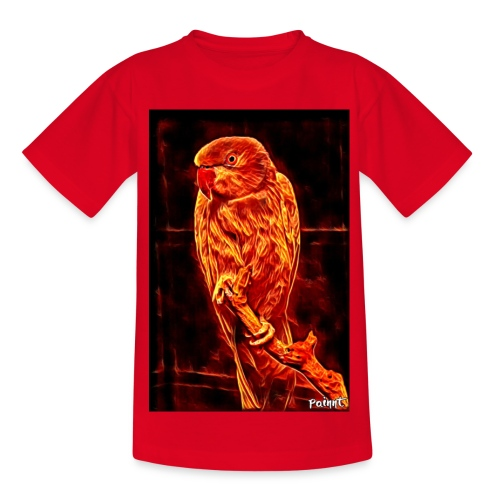 Bird in flames - Lasten t-paita