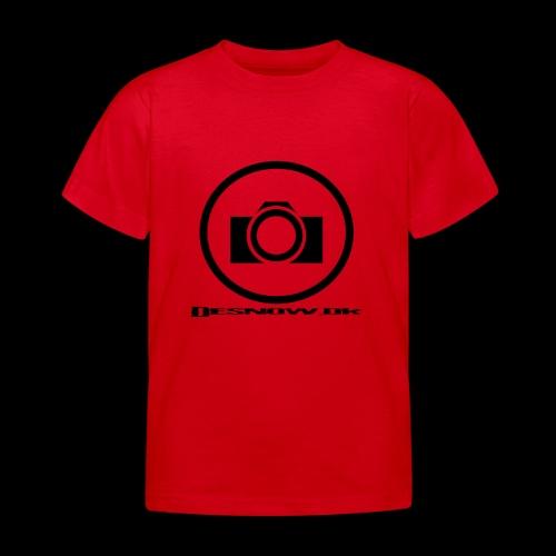 sort2 png - Børne-T-shirt