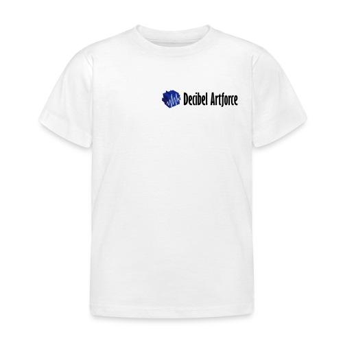 decibelartforce logo 4c vektorisiert - Kinder T-Shirt