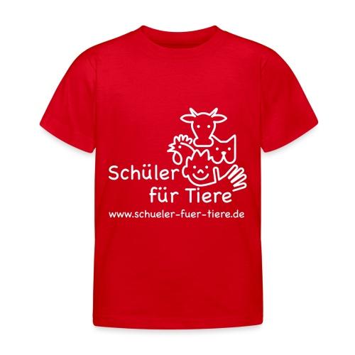 Logo Weiß (2x) - Kinder T-Shirt