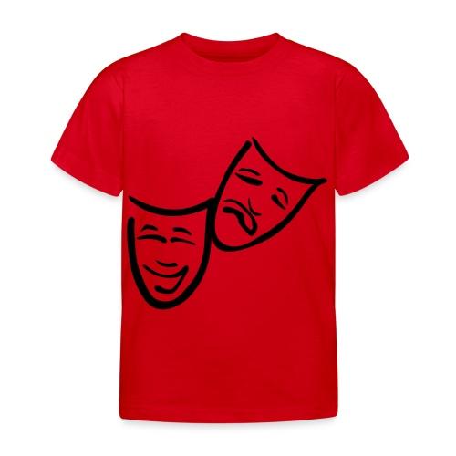 Theatermasken - Kinder T-Shirt