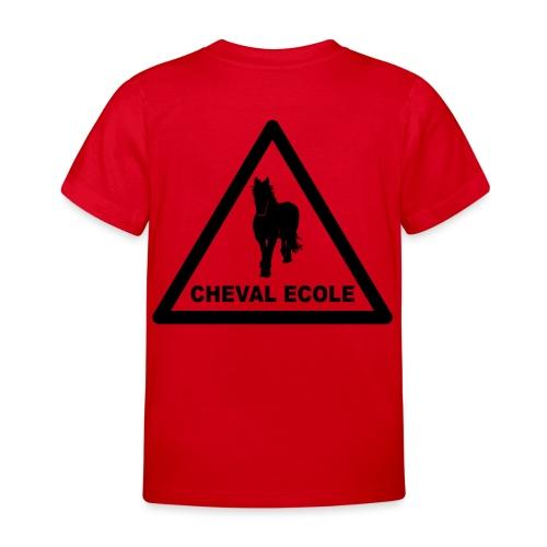 chevalecoletshirt - T-shirt Enfant