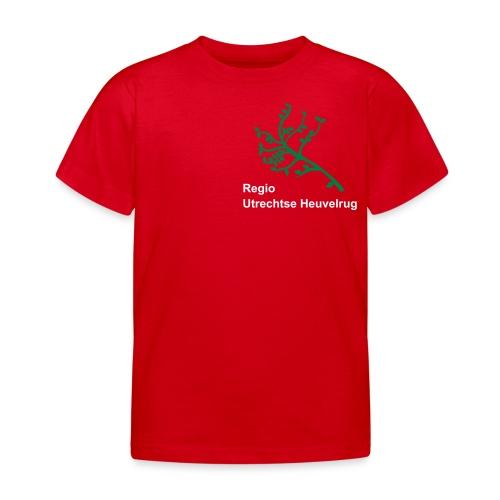Regio UH tekst 2r tak - Kinderen T-shirt