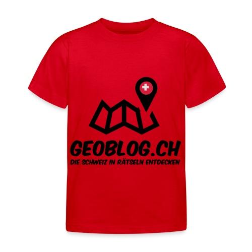 Logo+Schriftzug-hoch - Kinder T-Shirt