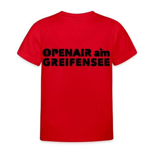 Openair am Greifensee 2018 - Kinder T-Shirt