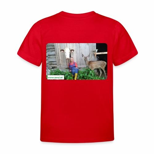 SenSi ♥ Hilfsprojekt für Kühe - Kinder T-Shirt