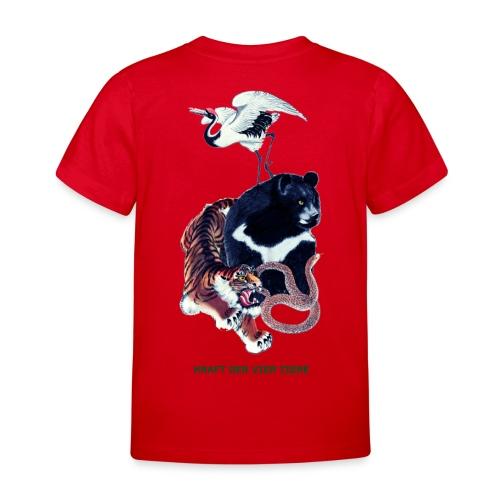 Long Ping - Bär, Kranich, Tiger, Schlange - Kinder T-Shirt