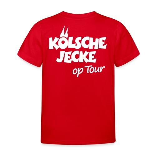 Kölsche Jecke Kölner Dom op Tour Köln Design - Kinder T-Shirt