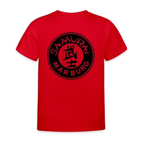 Logo schwarz auf weiß - Kinder T-Shirt