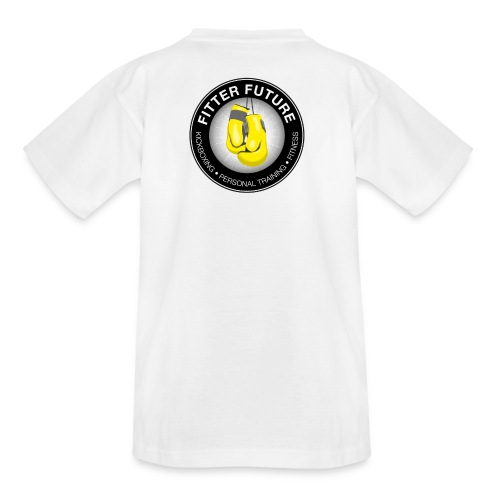 Fitter Future logo - Kinderen T-shirt