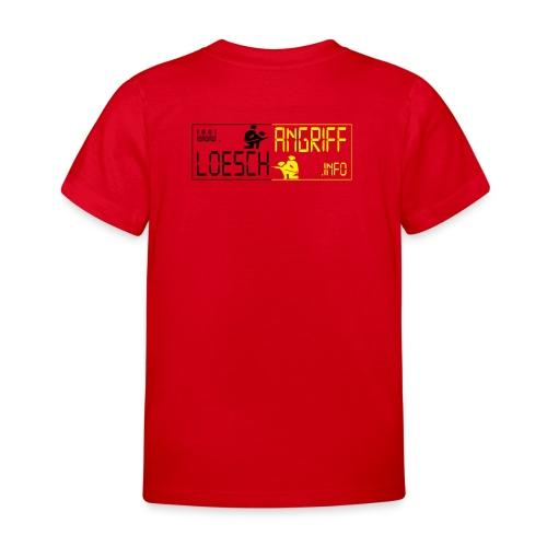 logo2014schwarzgelb2 png - Kinder T-Shirt