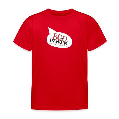 Dahoim am Andelsbach - ROT - Kinder T-Shirt