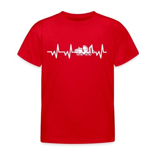 Forst | Herzschlag weiß - Kinder T-Shirt