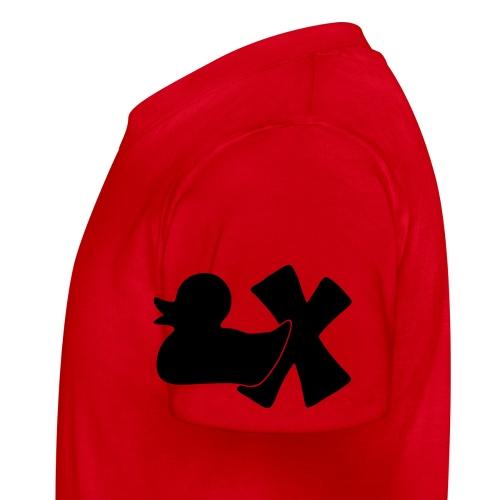 Ente mit X v3 3 klein - Kinder T-Shirt