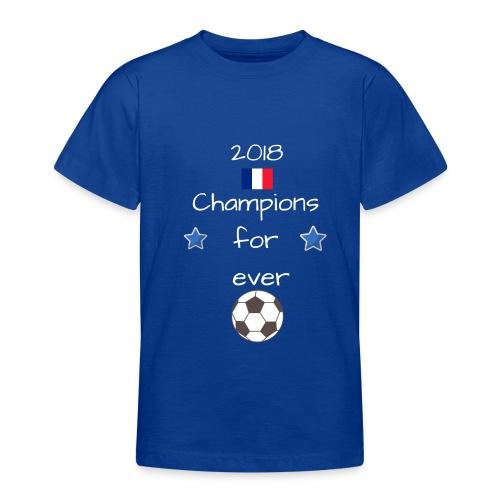 Championd du monde 11 - T-shirt Ado