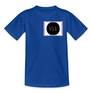 V11's first clothes - T-shirt tonåring
