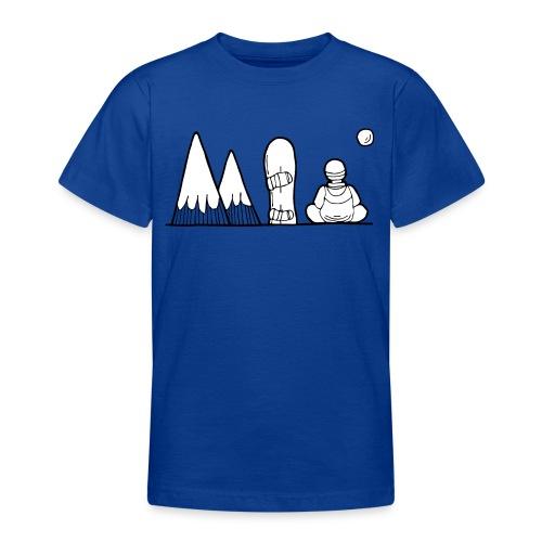 snowboard et montagnes - T-shirt Ado