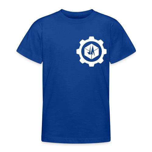 Jebus Adventures Cog White - Teenage T-shirt