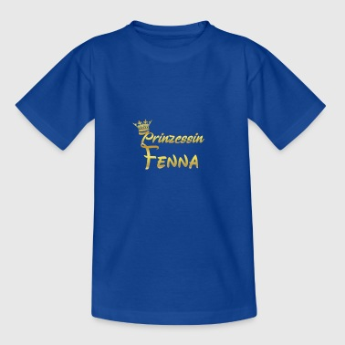 PRINCESS PRINCESS QUEEN CADEAU Fenna - T-shirt Ado