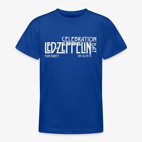LZ Fan Celebration Day White - Maglietta per ragazzi