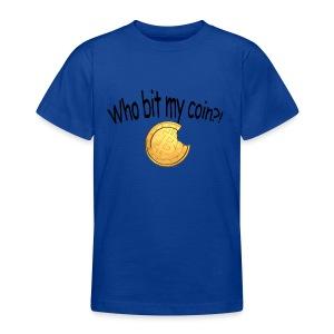 Bitcoin bite - Teenager T-shirt