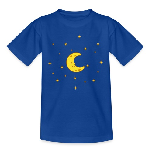 Mond und Sterne - Teenager T-Shirt