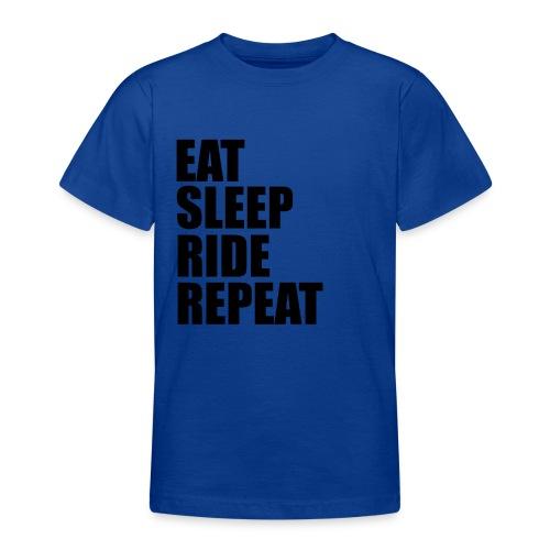 Eat sleep ride repeat - Maglietta per ragazzi