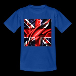 Union Jack design - Teenage T-shirt