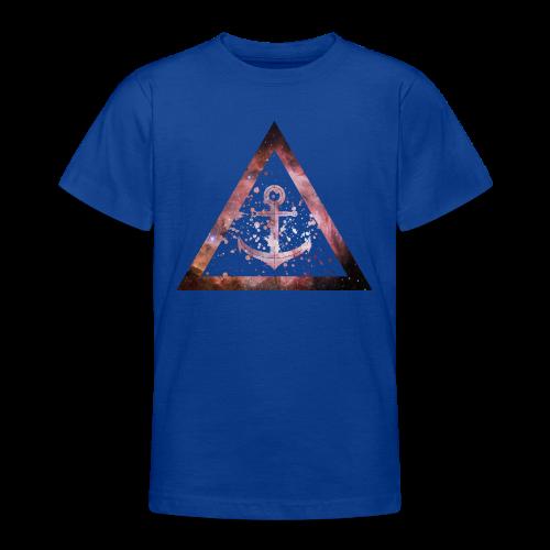 Galaxy Anchor Geometry Triangle - Teenager T-Shirt
