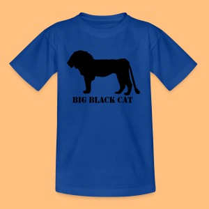BIG BLACK CAT - Teenager T-Shirt