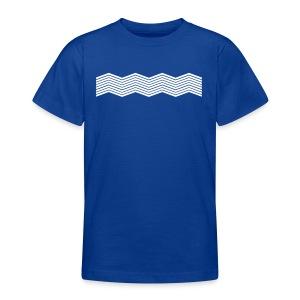 La mer et ses vagues - T-shirt Ado