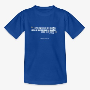 Frase celebre - Teenager T-Shirt