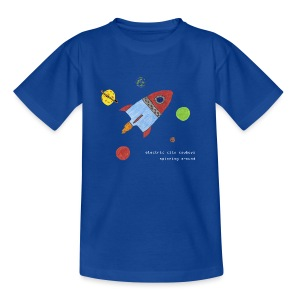 spaceship - T-shirt tonåring