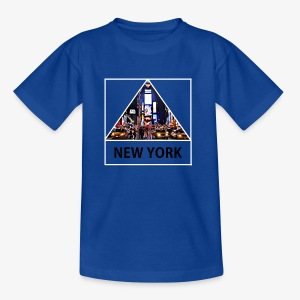 Triangle sur New York - T-shirt Ado