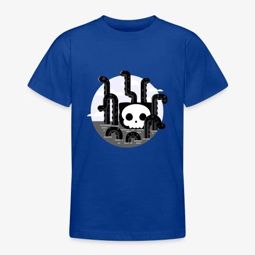 Cat octopus   Monster cat Github   Css   Web - Teenage T-Shirt