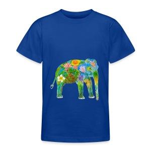 Asiatischer Elefant - Teenager T-Shirt