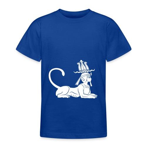 Ägyptische Sphinx - Teenager T-Shirt