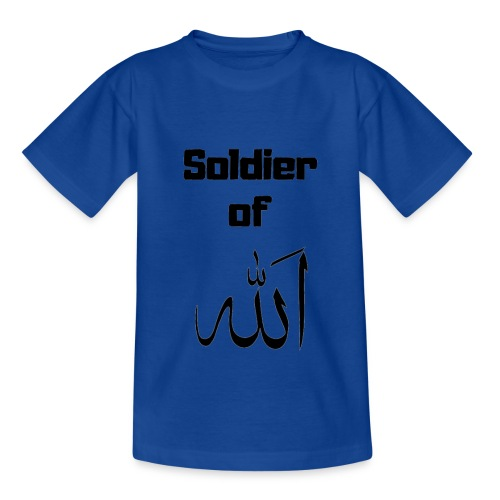 soldier of Allah - Teenage T-shirt