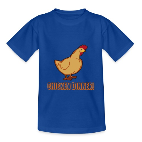 Chicken Dinner! - T-skjorte for tenåringer