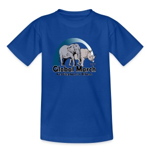 Global March For Elephants & Rhinos - Teenager T-Shirt