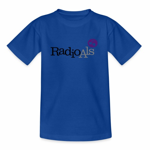 RadioAls Logo CMYK - Teenager-T-shirt