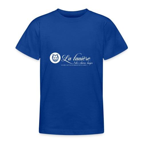 La Tanière des Chiens-Loups (logo plus grand) - T-shirt Ado