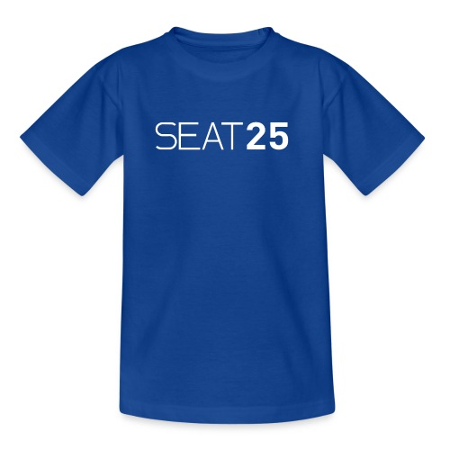 Seat25 Logo Light - Teenage T-Shirt