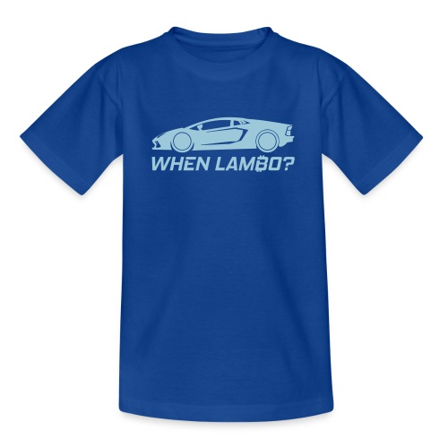 CryptoFR When lambo? - T-shirt Ado