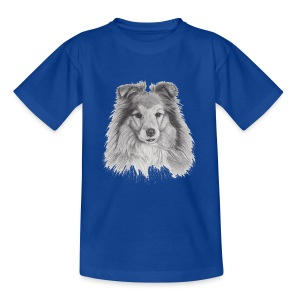 shetland sheepdog sheltie - Teenager-T-shirt