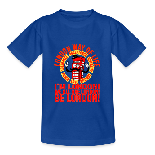 Londi London Mascot Design No 10 - Teenage T-Shirt