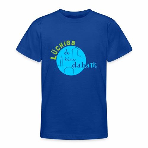 KreisTuerkisgruen - Teenager T-Shirt